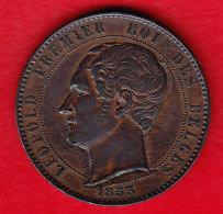 BELGIUM MORIN CAT N° M 3b  UNC,   1853  (BE 8) - 1831-1865: Leopold I