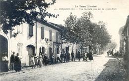 Tarn Illustré -   Fréjairolles - Vue Centrale Prise Sur La Route D'Albi - Café Jalby - France