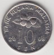 @Y@   Maleisië     10  Sen   2008     (4162) - Maleisië
