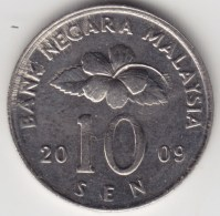 @Y@   Maleisië     10  Sen   2009     (4163) - Maleisië