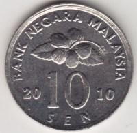 @Y@   Maleisië     10  Sen   2010     (4165) - Malaysia