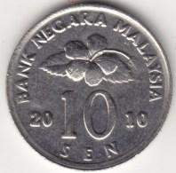 @Y@   Maleisië     10  Sen   2010     (4166) - Maleisië