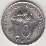 @Y@   Maleisië     10  Sen   2011     (4167) - Maleisië