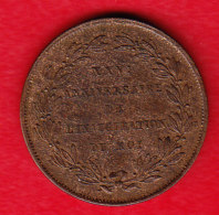 BELGIUM MORIN CAT N° M 9,  UNC,  BRONZE    1856  FR  (BE 9) - Médailles