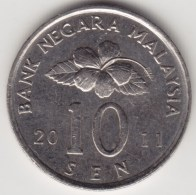 @Y@   Maleisië     10  Sen   2011     (4168) - Maleisië