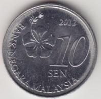 @Y@   Maleisië     10  Sen   2012     (4170) - Maleisië