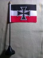 Banderín Alemania. I Guerra Mundial. 1914-1918. Cruz De Hierro. - Banderas