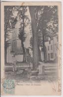 MARANS : PLACE DES CAPUCINS - L'EGLISE - MAGASIN - ECRITE 1904 - 2 SCANS - - Francia