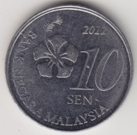 @Y@   Maleisië     10  Sen   2012     (4176) - Maleisië