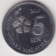 @Y@   Maleisië     5  Sen   2012     (4178) - Maleisië