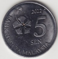 @Y@   Maleisië     5  Sen   2012     (4179) - Maleisië