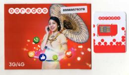 CARTE GSM/SIM OOREDOO 3G/4G Myanmar