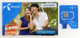 CARTE GSM/SIM TELENOR  Myanmar - Myanmar (Burma)