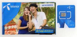 CARTE GSM/SIM TELENOR  Myanmar