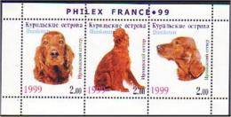 Philex France 99 Chien Irish Setter Irlandais Dog MNH ** Neuf SC (51-699a) - Chiens