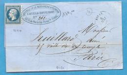 Oise - Usines De Royaumont. Boran. PC + CàD Type 15. Indice 10 - Postmark Collection (Covers)