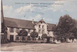 Gasthof Zum Lamm, Zavelstein. Württembergischer Schwarzwald Vorderansicht Des Hauses. - Bad Teinach