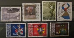 Liechtenstein - Lot De Timbres Oblitérés - Liechtenstein