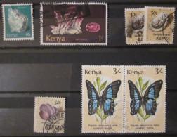 Kenya - Lot De Timbres Oblitérés - Kenya (1963-...)