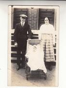 Old Photograph Of Belgian Immigrants In Lowell, Massachusetts (pk31384) - Etats-Unis