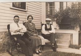 Old Photograph Of Belgian Immigrants In Lowell, Massachusetts (pk31389) - Etats-Unis