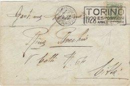 TORINO ESPOSIZIONE 1928 (301110) - Affrancature Meccaniche Rosse (EMA)