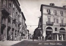 ASTI -Corso Vittorio Alfieri - F/G B/N Lucido (190111) - Asti