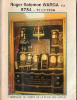 Roger Salomon Warga S.A  - Tabernacle Du Temple De La Place Des Vosges - Religion & Esotericism