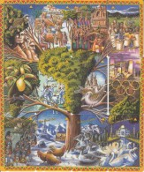 JERSEY ISL. - Puzzle Of 12 Cards, 12 Days Of Christmas, CN : 50-51-52JERA-B-C-D(normal 0), Tirage %10000-20000, Used - United Kingdom