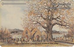 JERSEY ISL. -  Parish Church/St.Brelade, CN : 5JERE(normal 0), Tirage 15000, Used