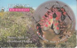"JERSEY ISL.(GPT) - Jersey""s Bio Diversity/Butterfly, CN : 57JERD(normal 0), Tirage %20000, Used - United Kingdom"