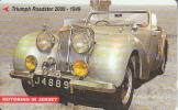 JERSEY ISL. - Triumph Roadster 2000-1949, CN : 77JERD(normal 0), Tirage 15000, Used - United Kingdom