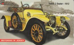 JERSEY ISL. - Talbot 2 Seater-1912, CN : 77JERA(normal 0), Tirage 15000, Used - United Kingdom