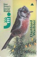 "JERSEY ISL. - Jersey""s Wildlife/Cirl Bunting, CN : 33JERB(normal 0), Tirage %20000, Used - United Kingdom"