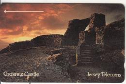 JERSEY ISL. - Grosnez Castle, CN : 2JERE(normal 0), Tirage 25000, Used