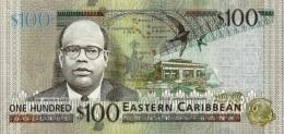 EAST CARIBBEAN STATES P. 55b 100 D 2015 UNC - Caraïbes Orientales