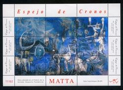 "CHILE ESTAMPILLA 2008; ""ESPEJO DE CRONOS"". - Chile"