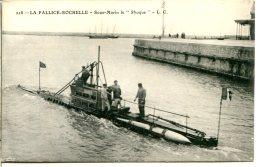 """17000 LA ROCHELLE - Sous-marin Le """"Phoque"""" Dans Le Port De La Pallice - CPA Cassegrain éditeur - La Rochelle"""