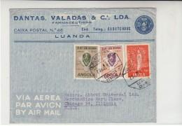 Angola / Airmail / Religion / Fatima / Ethnic Art - Angola