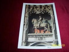 THEME  LES  CHEVAUX AVEC PHILATELIE  ° CHATEAU DE BLOIS STATUE EQUESTRE DE LOUIS XII - Pferde