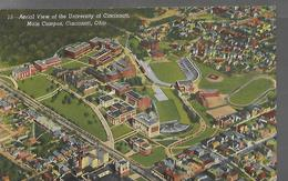 U.S.A        Ohio  Cincinnati  Aerial View  At University  Of Cincinnati - Cincinnati
