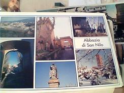 GROTTAFERRATA VEDUTE ABBAZIA S SAN NILO   N2000 FV8532 - Italië
