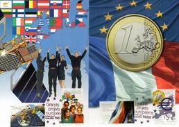 Carte Maximum - 4245/48 - Grands Projets Européen - 2000-09