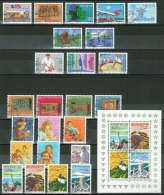 Suisse // Schweiz// Switzerland//  1987 Année Complète Oblitérée 1er Jour - Used Stamps