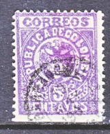 COLUMBIA  189   (o)   1902  Issue - Colombia