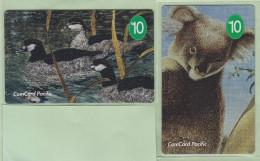 Nauru - 1995 Conservation Set (2) - NAU-1-4 - Specimens