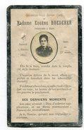 Avis De Décès : Mme Eugène   ROEDERER  Décès Le 6 Février 1897    VOIR DESCRIPTIF  §§§§§§ - Obituary Notices