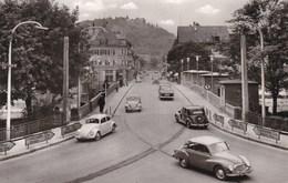 TUTTLINGEN - BADE-WÜRTEMBERG - DEUTSCHLAND -  LEBENDIGE ANSICHTKARTE 1959 - MIT ALTEN WAGEN. - Tuttlingen