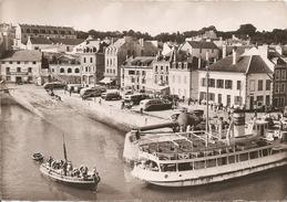 56  Morbihan : Belle Ile En Mer    Le Palais   Les Hôtels Du Port   Réf 2299 - Belle Ile En Mer