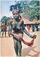 Gf. L'AFRIQUE EN COULEURS. La Danseuse Au Mouchoir. 3217 - Cartes Postales